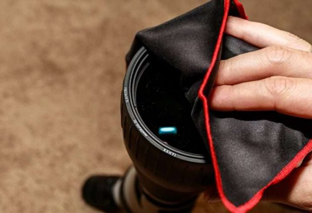 How to Clean Scope Lens